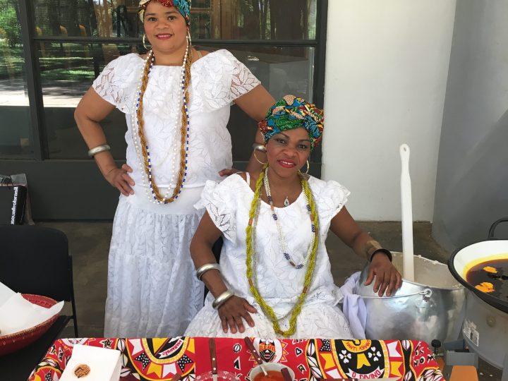 Zumbi no Museu Afro Brasil.