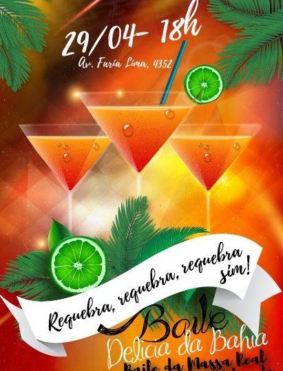 No próximo Feriado! Baile Delícia da Bahia – 29/04.