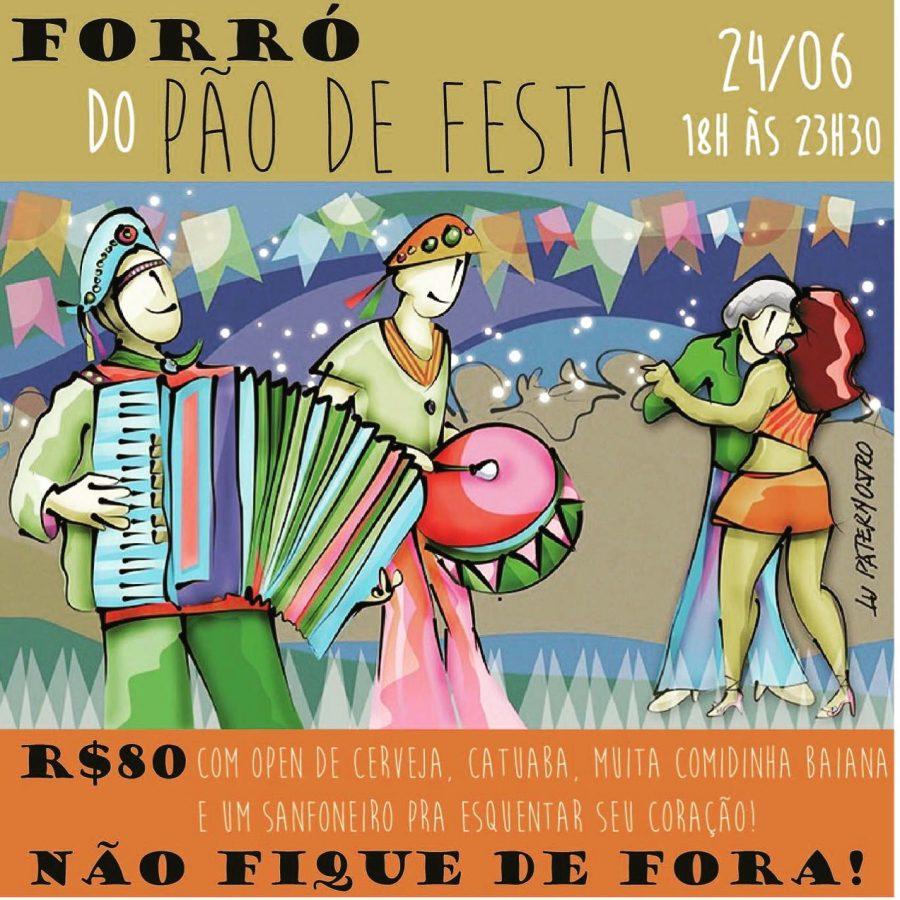 Forro Do Pão De Festa - 2017.